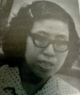 The Malay writer Anis Sabirin. Source: Dewan Bahasa dan Pustaka.